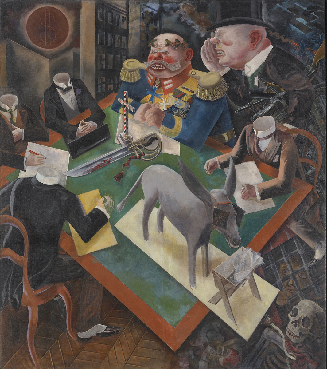 Power, Politics & War: Selections from the Permanent Collection George Grosz Eclipse of the Sun . 1926