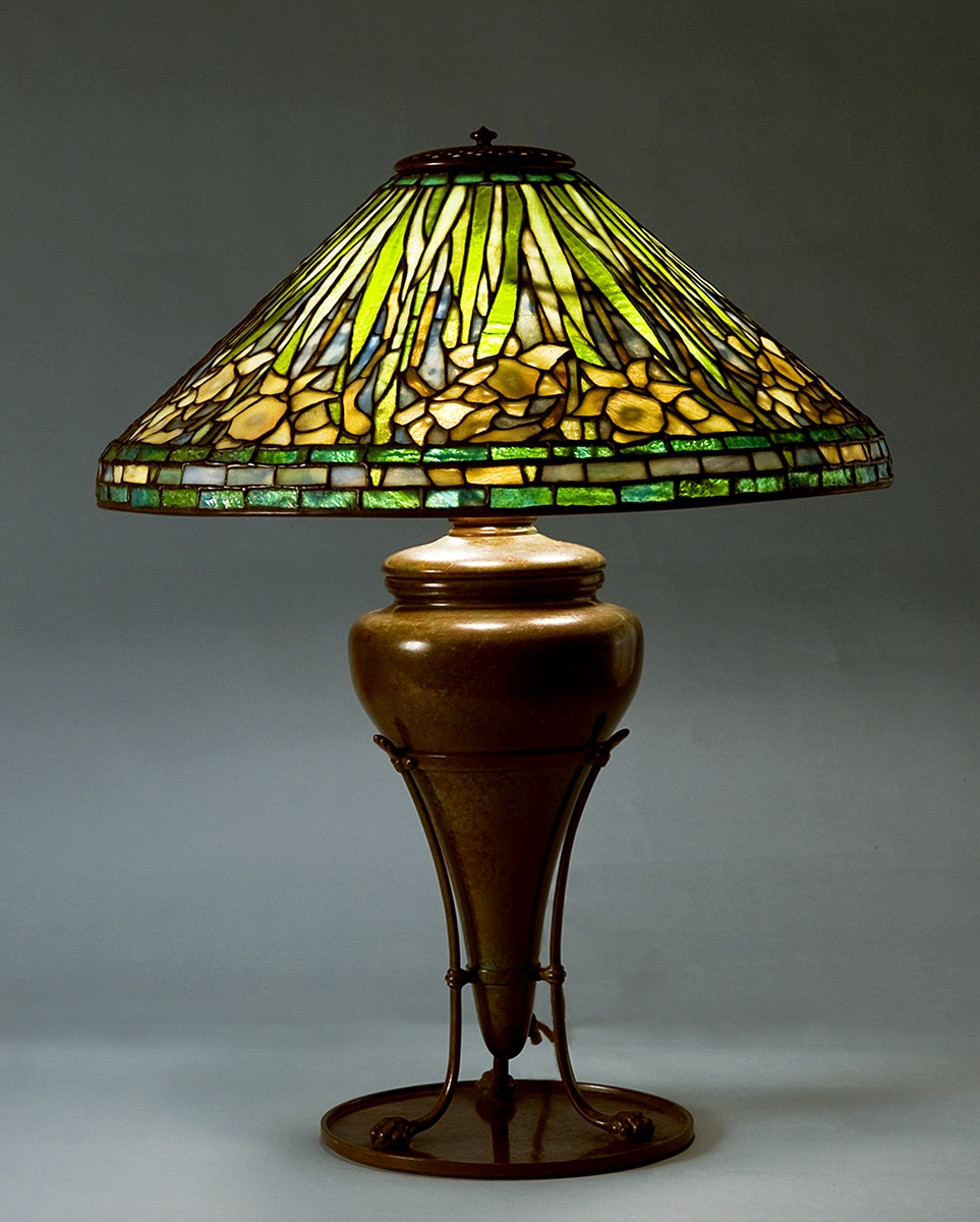 The Age of Tiffany Tiffany Studios, New York Daffodil Table Lamp