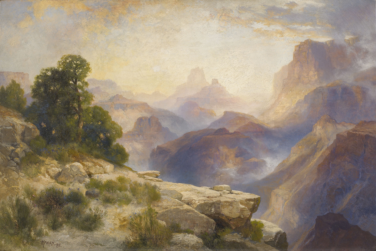 The Heckscher Museum Celebrates 100 Thomas-Moran-Grand-Canyon-of-the-Colorado-River