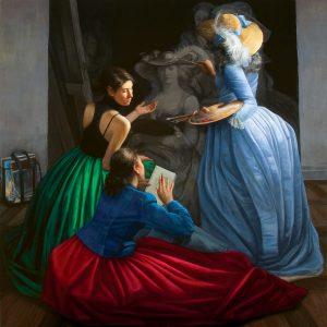 Long Islands Best 2020 Inspiration Gabriela Gonzalez Dellosso, The Mentor (Self-Portrait), 2010, Oil on linen
