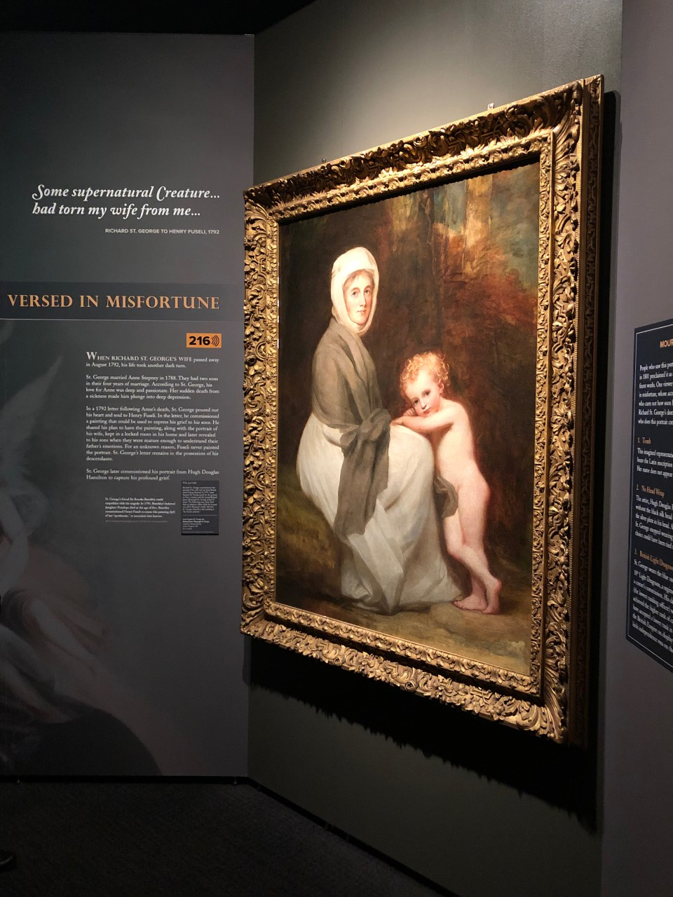"COLLECTION SPOTLIGHT: George Romney's ""Portrait of Mrs. St. George and Child"""